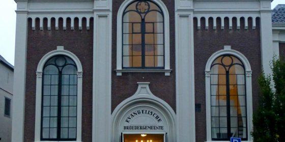 De kerk in Haarlem